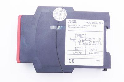 2x ABB VDE 0435/C250 VDE 0435 C250 Thermistor Steuergerät -used- – Bild 3