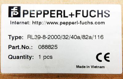 Pepperl+Fuchs RL39-8-2000/32/40a/82a/116 088825 Reflex-Lichttaster -unused/OVP- – Bild 3
