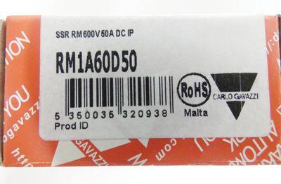 Carlo Gavazzi RM1A60D50 RM 1A60 D50 Nullspannungsrelais -unused/OVP- – Bild 2