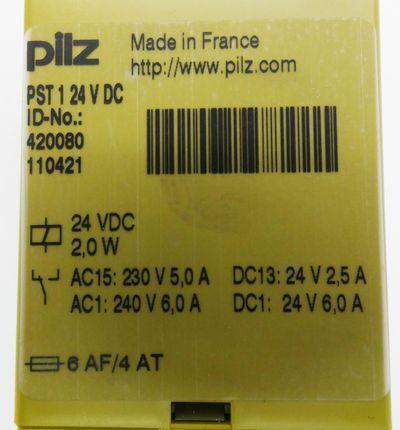 Pilz PST 1 PST1 24VDC 420080 Sicherheitsrelais -unused/OVP- – Bild 3