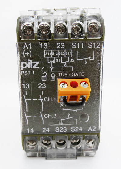 Pilz PST 1 PST1 24VDC 420080 Sicherheitsrelais -unused/OVP- – Bild 2