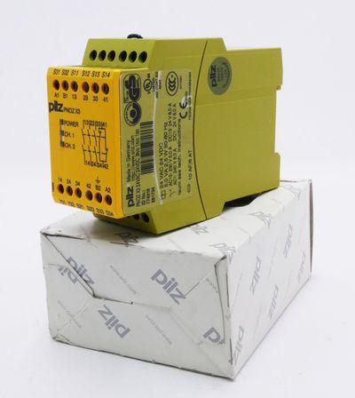 Pilz PNOZ X3 24VAC 24VDC 3n/o 1n/c 1s/o 774310 Sicherheitsschalter -unused/OVP- – Bild 1