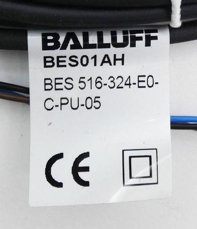 Balluff BES 516-324-E0-C-PU-05 BES516324E0CPU05 Induktiver Sensor -unused/OVP- – Bild 3