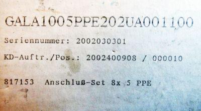 Prominent gamma/L GALA1005PPE202UA00100 17W 4,4l/h 10bar Dosierpumpe -unused/OVP – Bild 4