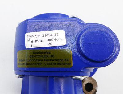 Groschopp VE 31-K-L-32 VE31-K-L-32 i = 30 900Ncm Getriebe -unused- – Bild 3