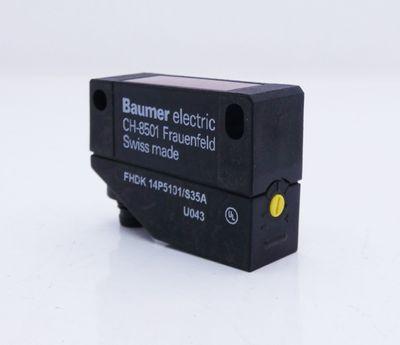 Baumer electric FHDK 14P5101/S35A Lichttaster -used- – Bild 1