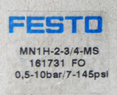 Festo MN1H-2-3/4-MS 161731 FO  0,5-10 bar Magnetventil -unused/OVP- – Bild 3
