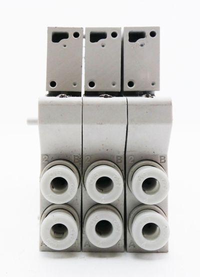 3x SMC VVQ1000-10A-1 Magnetventil -used- – Bild 3