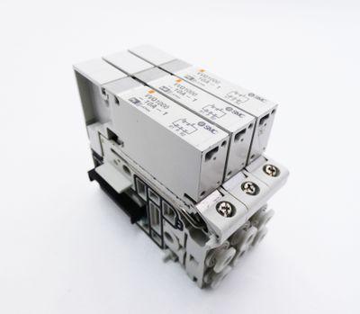 3x SMC VVQ1000-10A-1 Magnetventil -used- – Bild 1