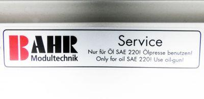 BAHR Modultechnik ELSZ 80S HD No. 1705470-10-1 HTD 8M HP-PAZ Linearmodul -unused – Bild 4