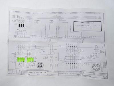 Demag E-MO-116 SH-Motor 4.0 2.0m VW3E1116R020 1569413040 Verbindungskabel -used- – Bild 8