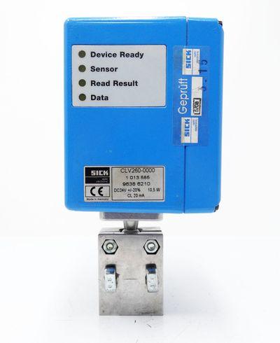 Sick CLV260-0000 1013585 Barcode Scanner + Halterung -used- – Bild 5