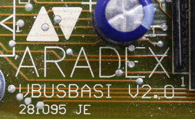 Aradex VBUS DIGI I/O V2.0 111195 JE  + VBUSBASI V2.0 281095 JE Extension -used- – Bild 4