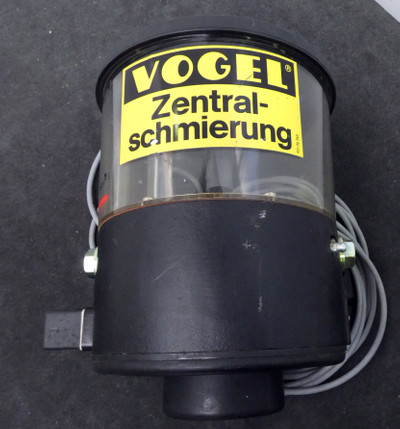 Vogel  KFG 10-2W-428  Zentralschmierpumpe mit Vorratsbehälter  -unused- – Bild 1
