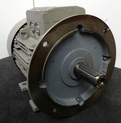 Siemens 1LA 7130-4AA16 Elektromotor  5,5 KW  1455/min  230/400/460 Volt -used- – Bild 3