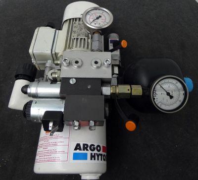 ARGO-HYTOS  738-1111  Hydraulikaggregat / Hydraulikfilter mit Pumpe -used- – Bild 1
