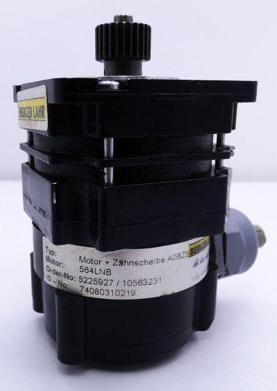 Berger Lahr 564LNB Schrittmotor + Zahnscheibe -used- – Bild 5