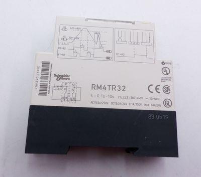 Telemecanique RM4TR32 Überwachungsrelais -used- – Bild 2