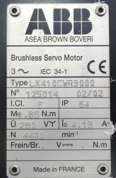 ABB LX410CW R3000 LX410CWR3000 Servomotor -unused- – Bild 3