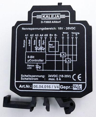 Kaleja 06.04.016 / V4 24VDC (18-35V) 5A Motoransteuerung -used- – Bild 2