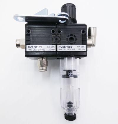 Aventics 0821300980 Magnetventil + 0821300300 Filterregler -unused- – Bild 2