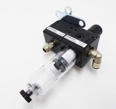 Aventics 0821300980 Magnetventil + 0821300300 Filterregler -unused/Gehäusebruch- – Bild 1