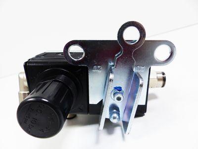 Aventics 0821300980 Magnetventil + 0821300300 Filterregler -unused/Gehäusebruch- – Bild 3