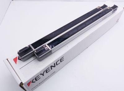 Keyence SL-C40F SL-C40F-R Reveiver + SL-C40F-T Transmitter Lichtvorhang -used- – Bild 1