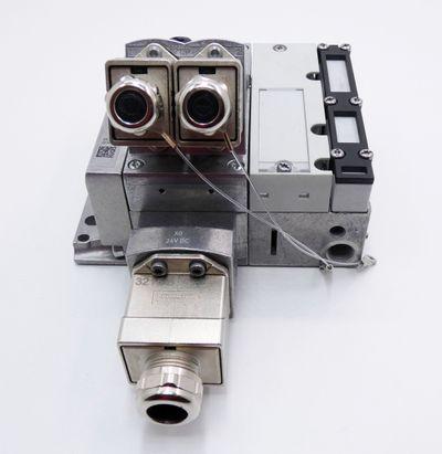 Festo CPX-M-FB34 548751 + CPX-M-GE-EV-S-PP-5POL 563057 + VMPA1-FB-EPLM-GU -used- – Bild 7