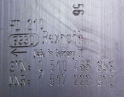 Rexroth 0510 465 353 (AZPFF-11-008/008LCN20XXMX-S0202) Außenzahnradpumpe -unused – Bild 2