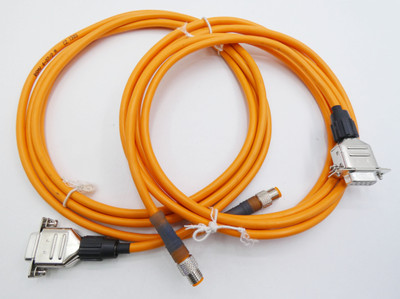2x Lumberg RSMV 4-07 2M Sensor-/Aktor Kabel  -unused- – Bild 1