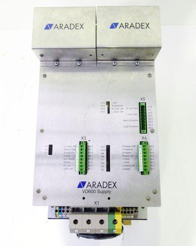 ARADEX VD600 Supply D 565/160 Lg DC 565V/160A Version : 1.4 -used- – Bild 2