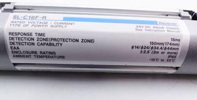 Keyence SL-C16F-R Receiver 24VDC 66mA Lichtvorhang -used- – Bild 2