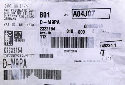 2x SMC D-M9PA Elektronischer Signalgeber -unused/OVP- – Bild 2