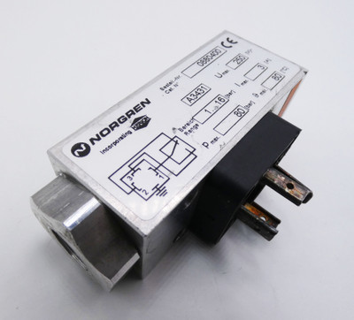 Norgren  0880400  max. 3A  Pmax. 80bar Pneumatik-Druckschalter  -used- – Bild 1