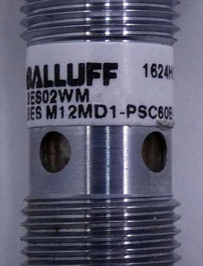 Balluff BES02WM BES M12MD1-PSC60B-S04G Induktiver Sensor -used- – Bild 2