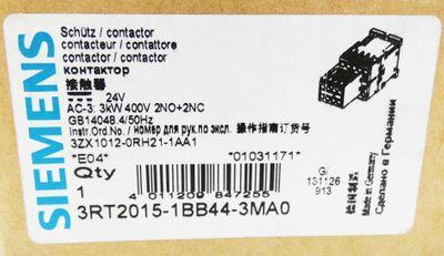 Siemens SIRIUS 3RT2 015-1BB44-3MA0 24VDC  E: 04 Schütz Contactor   -unused/OVP- – Bild 3