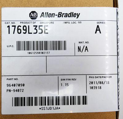 Allen Bradley 1769L35E Series A SW: 1.15 -sealed- – Bild 2