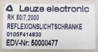 Leuze Electronic RK 80/7 2000  0105F414830 Reflexionslichtschranke  -unused/OVP- – Bild 3