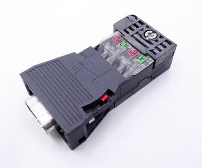 4x Siemens 6GK1500-0FC00 E-Stand: 02 Profibus Plug 180 -used- – Bild 3