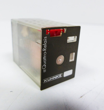 10x Kuhnke 114A4-24VAC N 83660 Quattro Relais -unused/OVP- – Bild 3