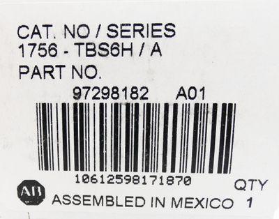 Allen Bradley 1756 - TBS6H/A  97298182 Terminal Block -unused/OVP- – Bild 3