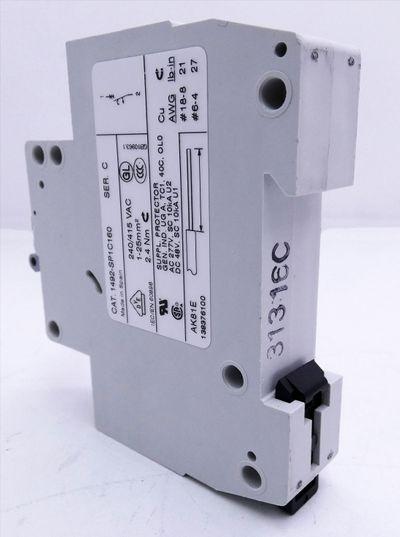 2x Allen-Bradley 1492-SP1C160 Ser. C 16A, C, 1 Pole Schutzschalter -unused/OVP- – Bild 6