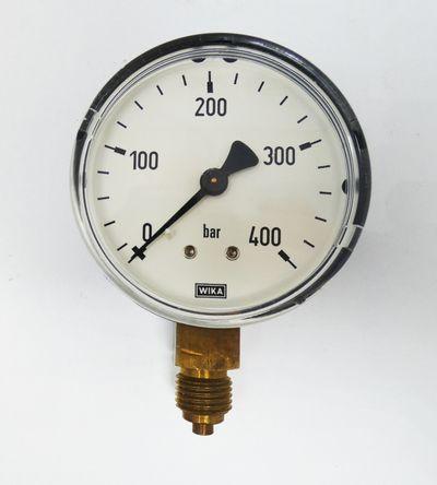 7x Wika 0-400 bar d=60mm Manometer -used- – Bild 2