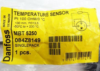 Danfoss MBT 5250 084Z8149 Pt 100 100mm -50°C - 200°C Tempratursensor -unused- – Bild 4
