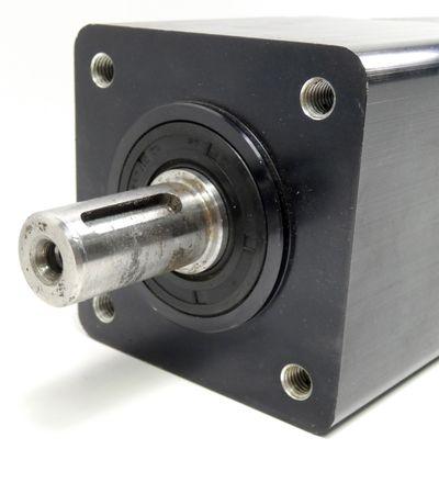 Berger Lahr VRDM 3913/60 LNB Schrittmotor + Getriebe i=5 +mayr ROBA-stop-M -used – Bild 6