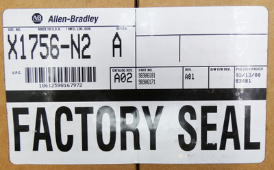 Allen-Bradley X1756-N2 Series A Rev. A01 -sealed- – Bild 3