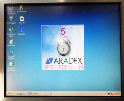 ARADEX VECTONUM Version M135 VNS2504M135 PIV 2800MHz 256MB 40GB PC System -used- – Bild 4