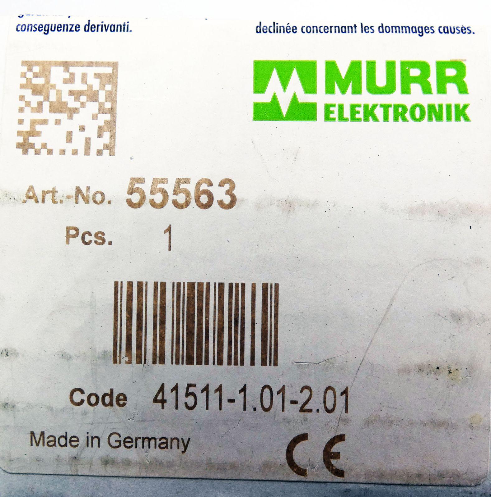 Verbazingwekkend Murr Elektronik MVK-MPNIO F DI8/4 F DO4 PP No. 55563 Profinet GR-74