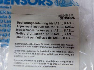 Rechner Sensors KAS-40-6/15-N 405100 Kapazitiver Sensor -unused- – Bild 4